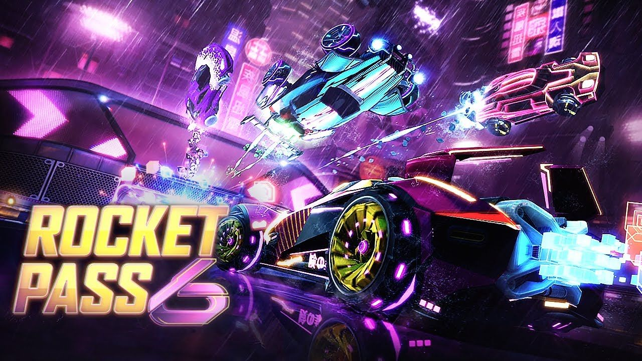 Rocket League se lance dans le Cyberpunk